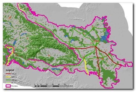 Pregledna karta istraživanog područja